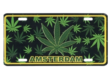 Netherlands Souvenir License Plate manufacturer and supplier in China