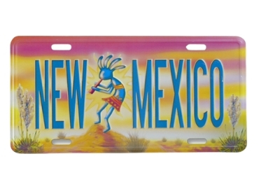 New Mexico Souvenir License Plate manufacturer and supplier in China