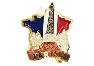 Paris Enamel Pin manufacturer and supplier in China