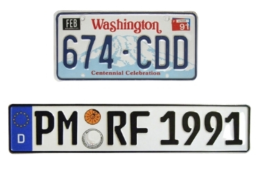 Personalized Souvenir License Plate manufacturer and supplier in China