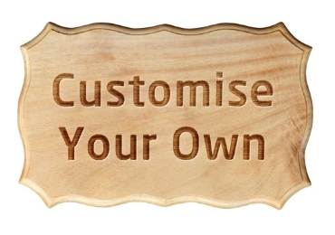 Personalized Wooden Sign manufacturer and supplier in China