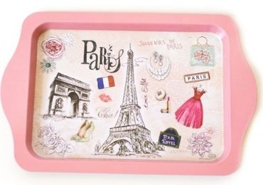 Pink Souvenir Tray manufacturer and supplier in China