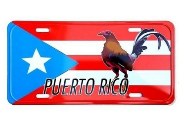 Puerto Rico Souvenir License Plate manufacturer and supplier in China