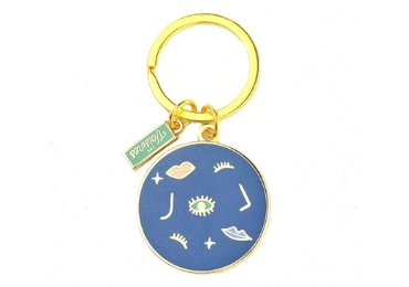 Souvenir Glass Keychain manufacturer and supplier in China