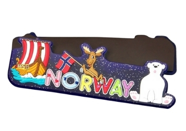 Souvenir Magnet Norway manufacturer and supplier in China