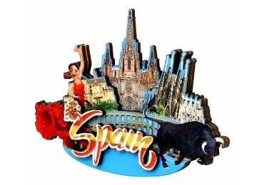 Souvenir Magnet Spain manufacturer and supplier in China