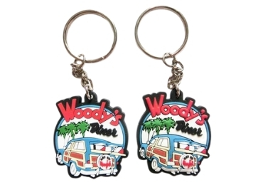Souvenir Silicone Keychain manufacturer and supplier in China