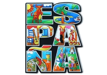 Spain Souvenir Magnet manufacturer and supplier in China