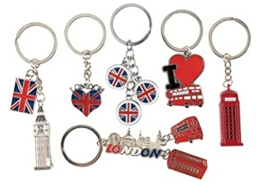 UK Souvenir Keychain manufacturer and supplier in China