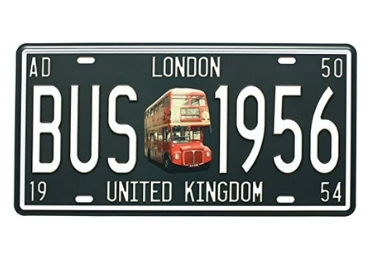 Vintage Souvenir License Plate manufacturer and supplier in China