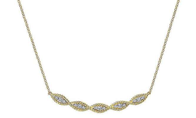 Twisted Necklace manufacturer and supplier in China