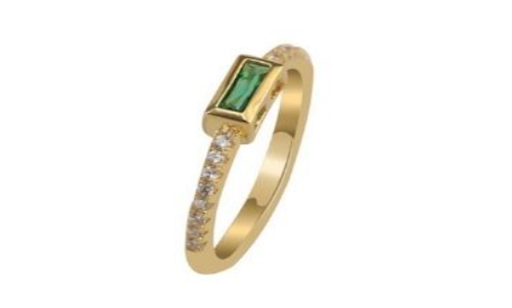 Emerald Ring manufacturer and supplier in China
