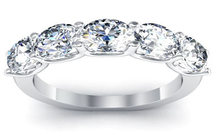 Five Stone Ring manufacturer and supplier in China