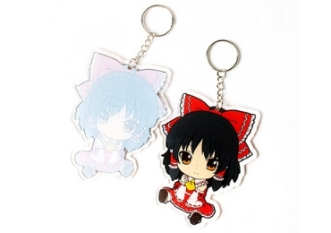 custom Acrylic Advertising Keychain wholesale manufacturer and supplier in China