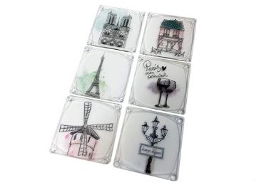 custom Advertising Acrylic Coaster wholesale manufacturer and supplier in China