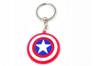 custom Advertising Rubber Keyring wholesale manufacturer and supplier in China
