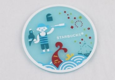 custom Advertising Starbucks Coaster wholesale manufacturer and supplier in China