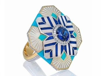 Art Cloisonne Rings manufacturer and supplier in China