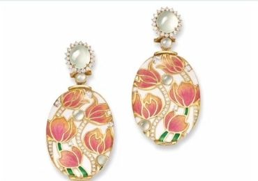 Auction Cloisonne Studs manufacturer and supplier in China