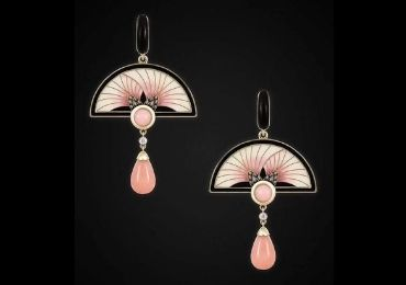 Auction Enamel Earrings manufacturer and supplier in China