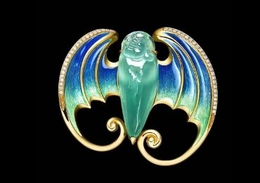 Bat Enamel Jewelry Pin manufacturer and supplier in China