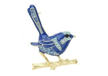 Bird Enamel Brooches manufacturer and supplier in China