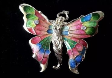 Butterfly Cloisonne Jewelry manufacturer and supplier in China