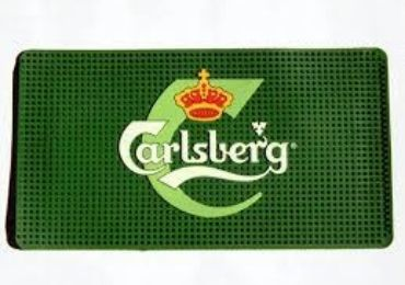 custom Carlsberg Advertising Mat wholesale manufacturer and supplier in China