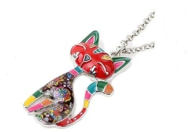 Cat Enamel Pendant manufacturer and supplier in China