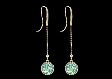 Cloisonne Drop Earrings manufacturer and supplier in China