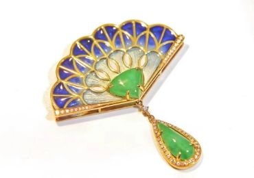 Cloisonne Jewelry Brooch manufacturer and supplier in China