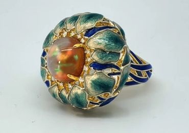 Cloisonne Jewelry Rings manufacturer and supplier in China
