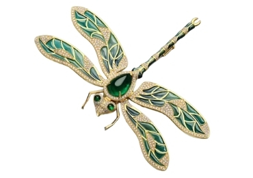 Dragonfly Cloisonne Brooch manufacturer and supplier in China