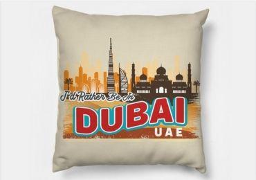 custom Dubai Souvenir Pillows wholesale manufacturer and supplier in China