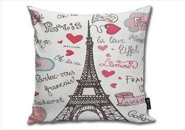 custom Eiffel Tower Pillows wholesale manufacturer and supplier in China