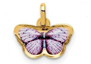 Enamel Butterfly Necklace manufacturer and supplier in China