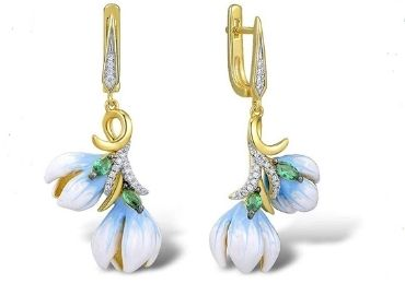 Enamel Earring Jewelry manufacturer and supplier in China