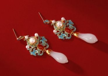 Enamel Jewel Earrings manufacturer and supplier in China