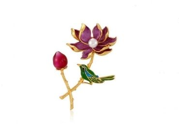 Enamel Jewelry Brooch manufacturer and supplier in China