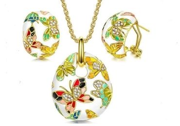 Enamel Jewelry Set manufacturer and supplier in China