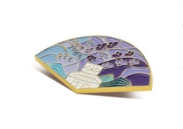 Fan Cloisonne Pin manufacturer and supplier in China