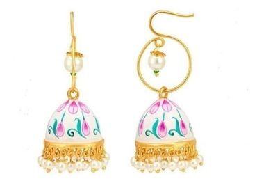 Floral Enamel Earrings manufacturer and supplier in China
