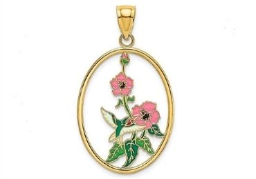 Garden Enamel Pendant manufacturer and supplier in China