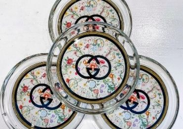 custom Gucci Acrylic Coaster wholesale manufacturer and supplier in China