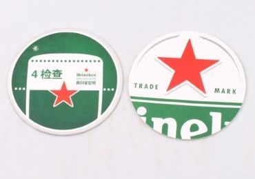 custom Heineken Advertising Coaster wholesale manufacturer and supplier in China