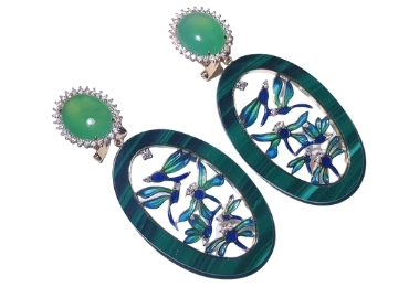 Jade Jewelry Earrings manufacturer and supplier in China