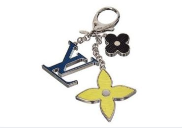 custom LV Enamel Keychain wholesale manufacturer and supplier in China