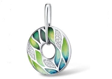 Leaves Enamel Pendant manufacturer and supplier in China