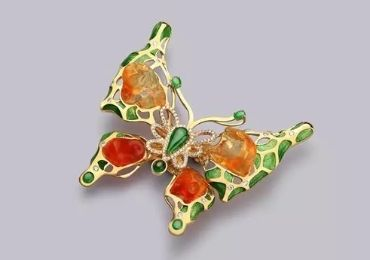 Luxury Cloisonne Brooch manufacturer and supplier in China