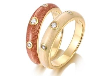 Minimalist Cloisonne Rings manufacturer and supplier in China